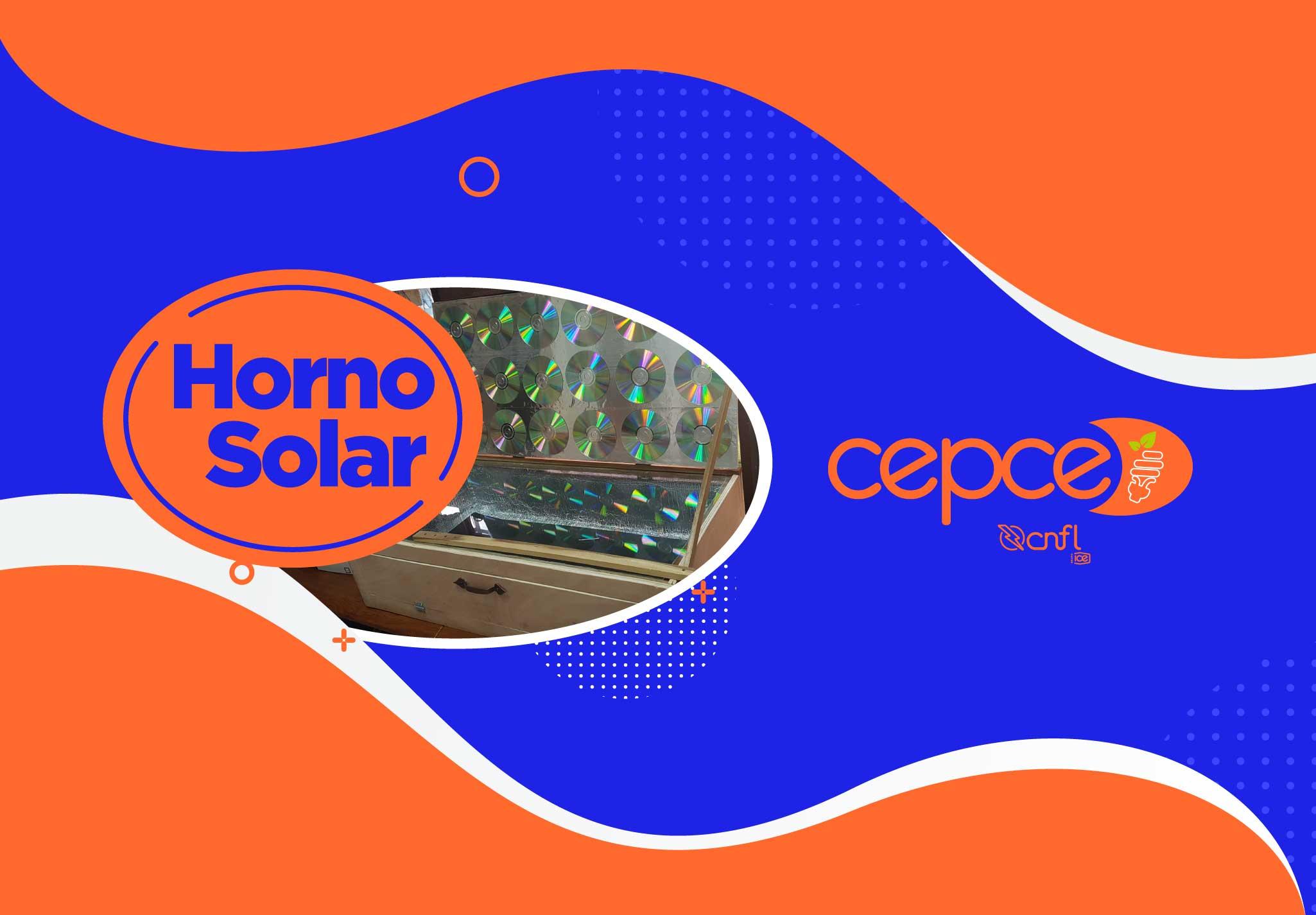 Grupo de estudiantes y un profesor creando un horno solar